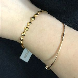 "💝last One!!❤️Gorjana Gold Bracelet 7"", .30 OZ B1"